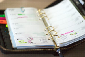 Filofax Weekly Pages